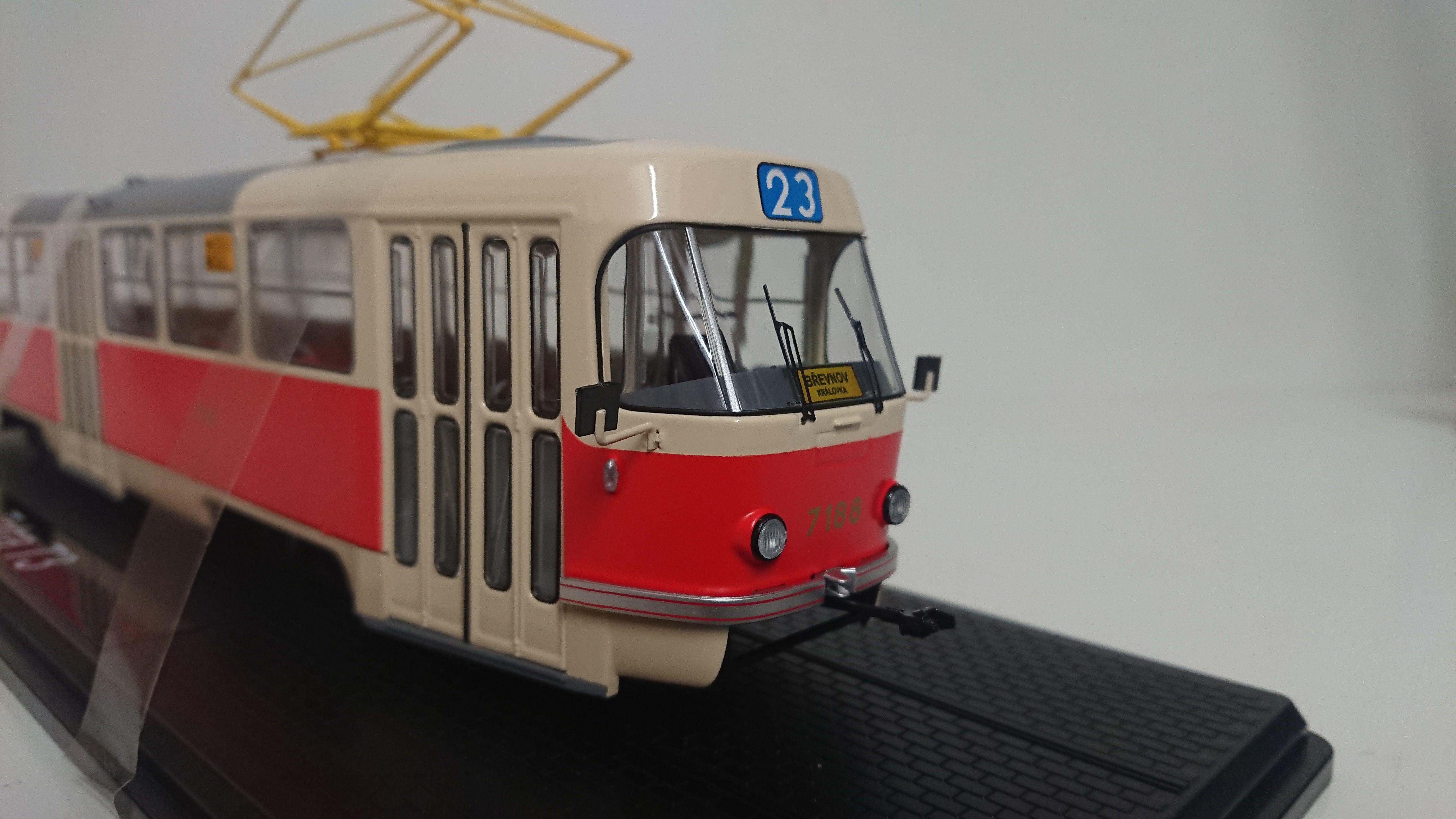 Macheta tramvai Tatra T3, scara 1:43 0