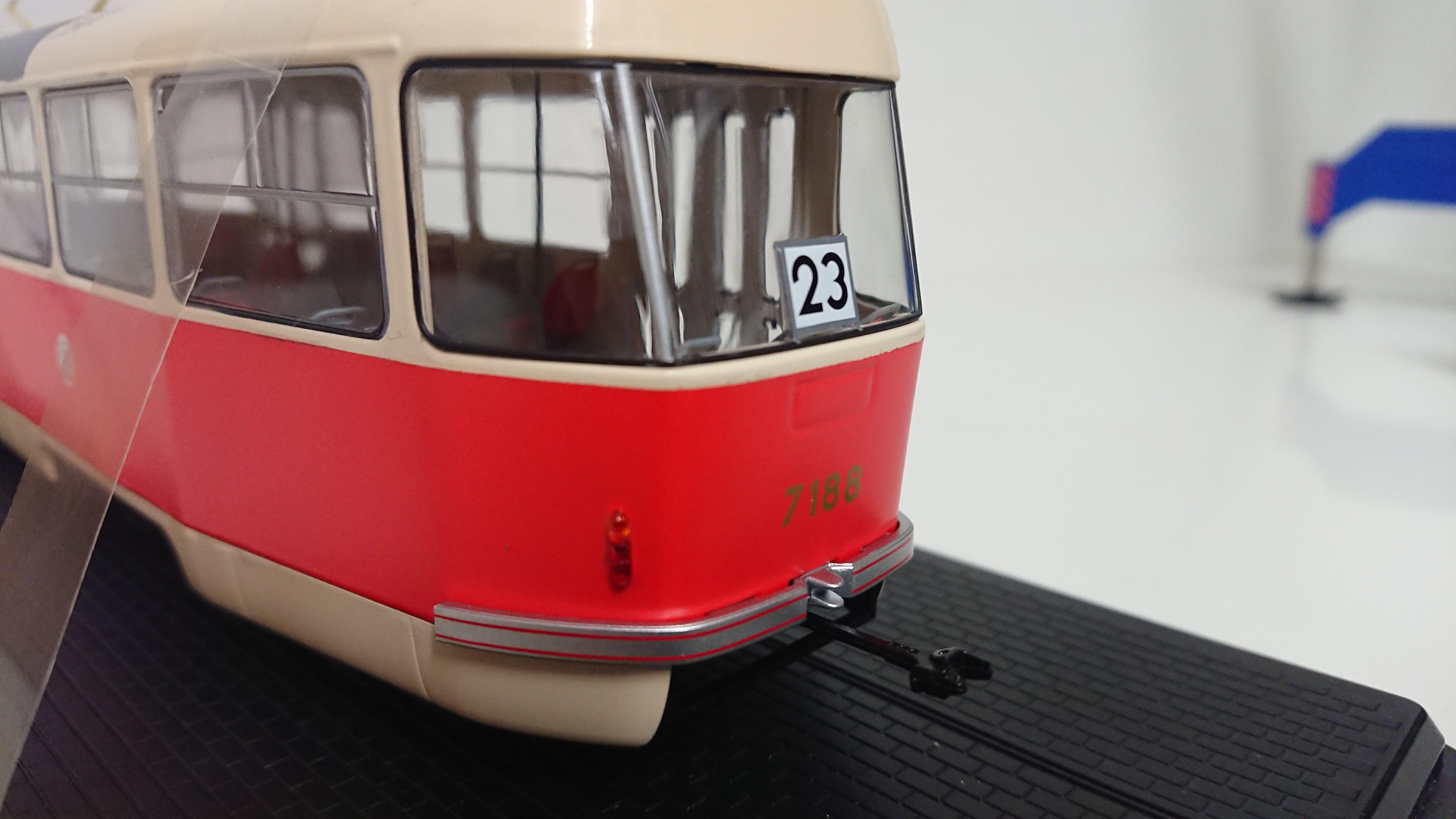 Macheta tramvai Tatra T3, scara 1:43 2